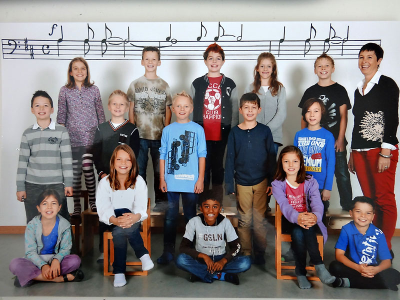 3. Klasse am 25. Oktober 2012